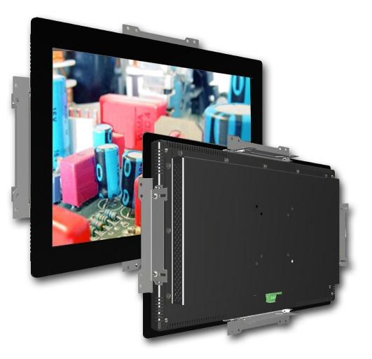 Industrie-Einbau-TFT mit Frontplatte 15'' - 23''