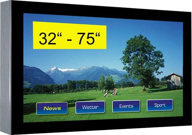 TFT / LCD Großanzeige - Outdoor Wandbefestigung 32'' bis 75''