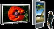 Großbildschirme  Hochwertige Industrie Indoor- /Outdoor Geräte bis IP65 für Hallen- und Publicbereiche