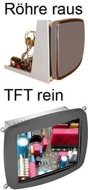 Monitorersatz mit Industrie TFT / LCD